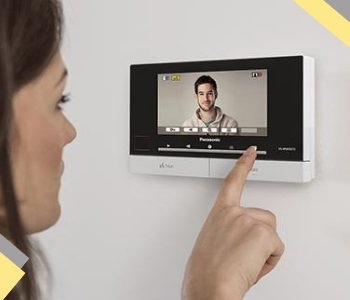 Audio Video Intercom System Dubai